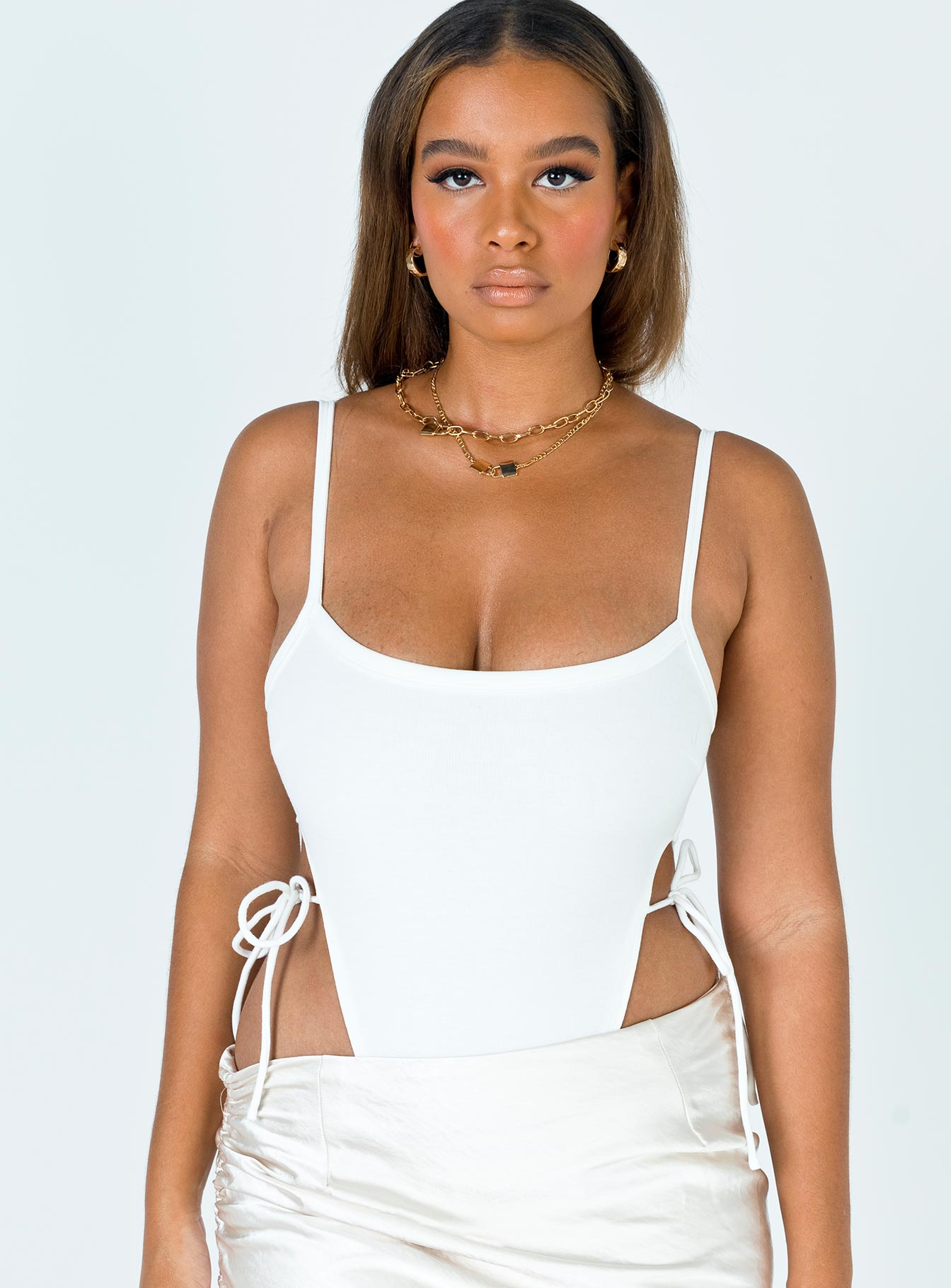 Edna Bodysuit White