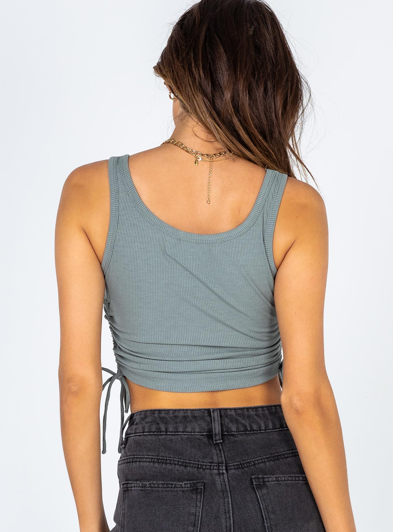 Madelyn Top Green