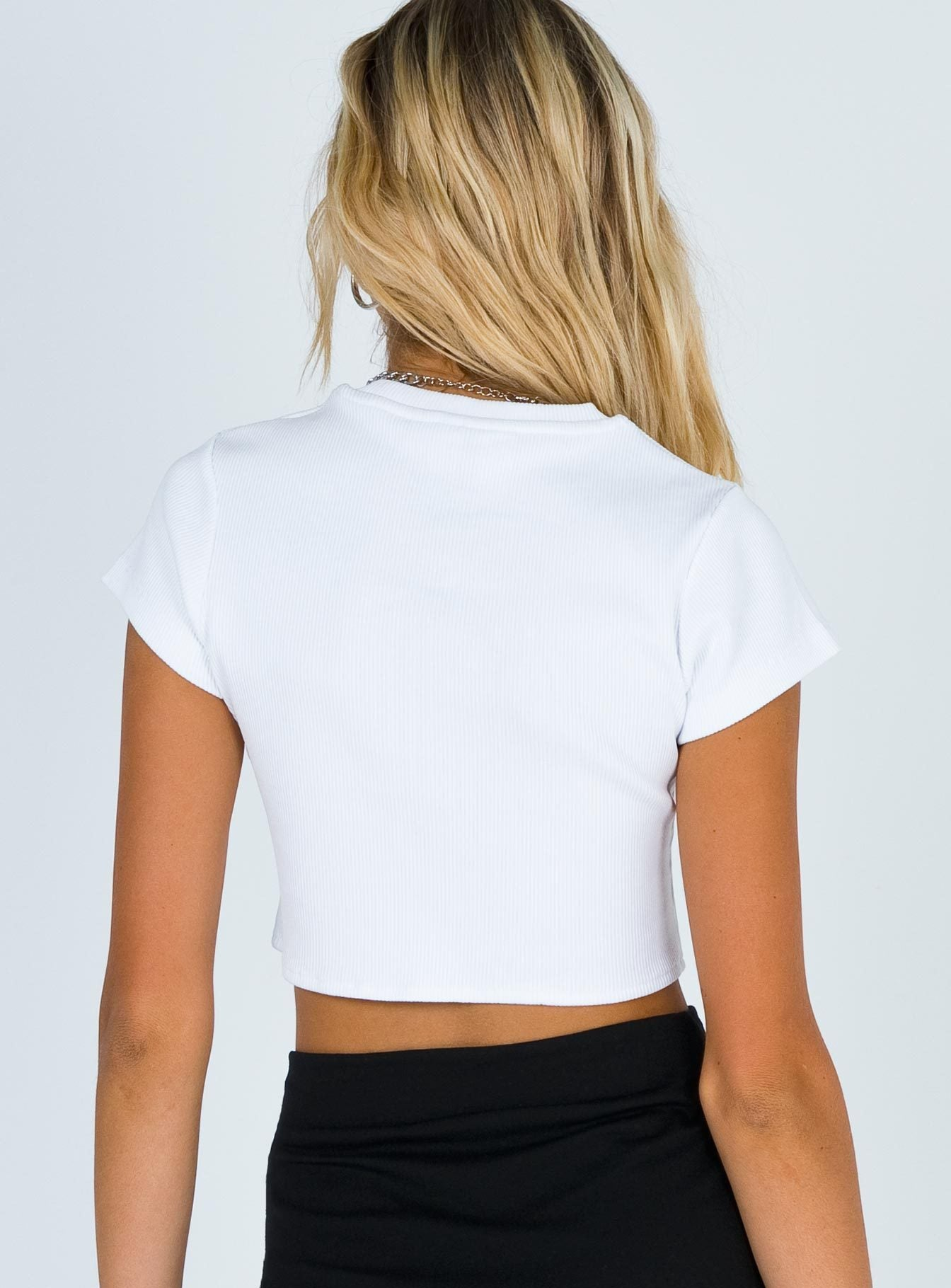 The Ragged Priest Clone Top White