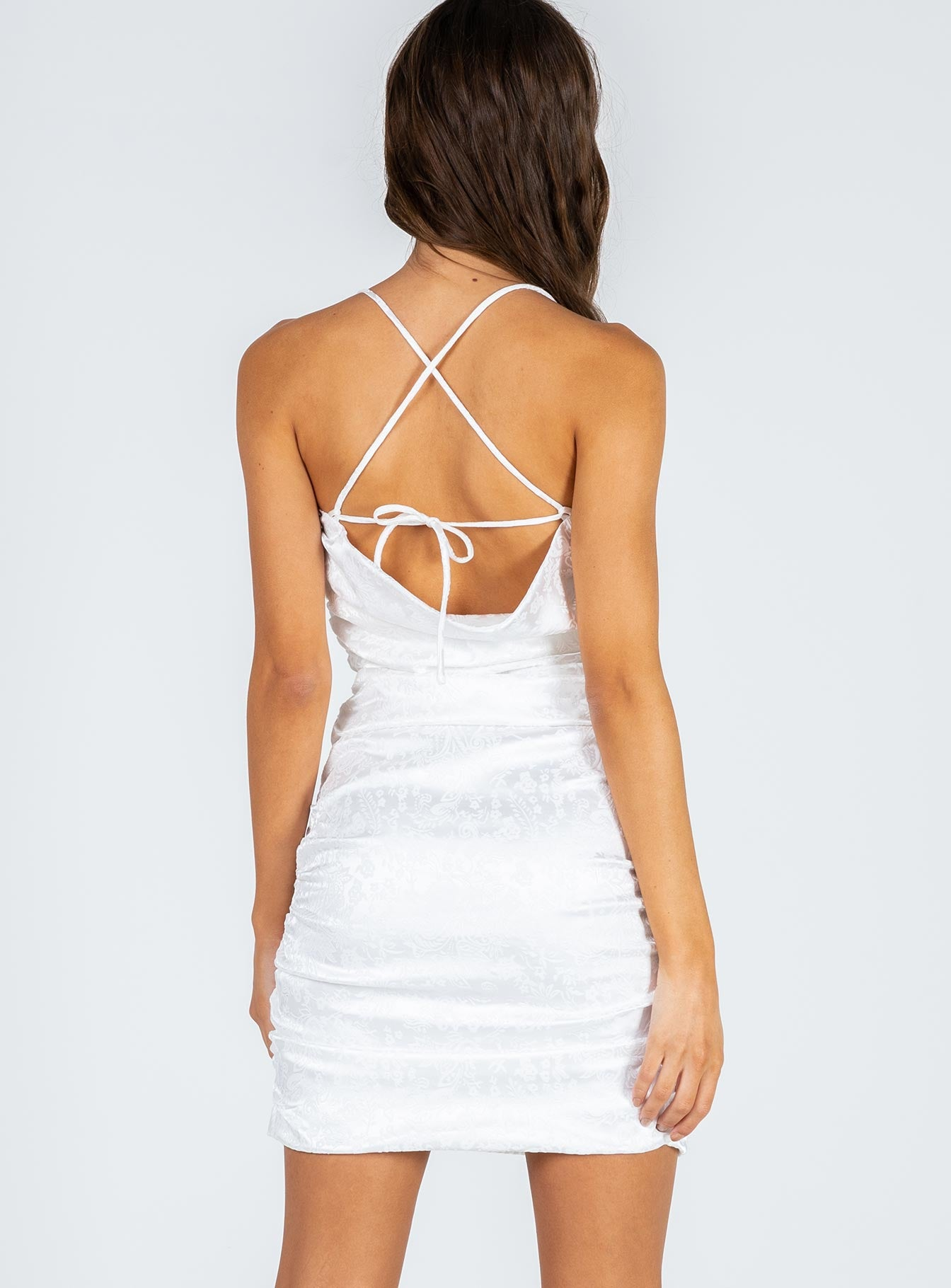 Krista Mini Dress Off White