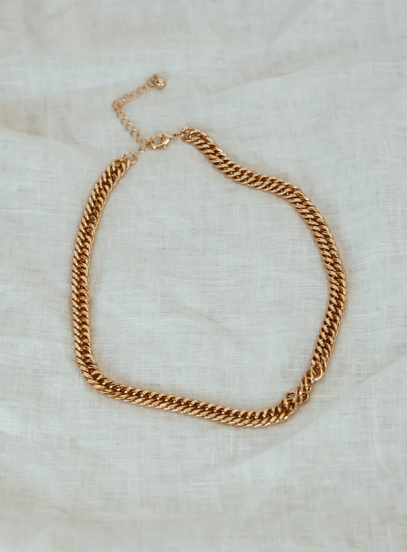 Athena Gold Plated Necklace