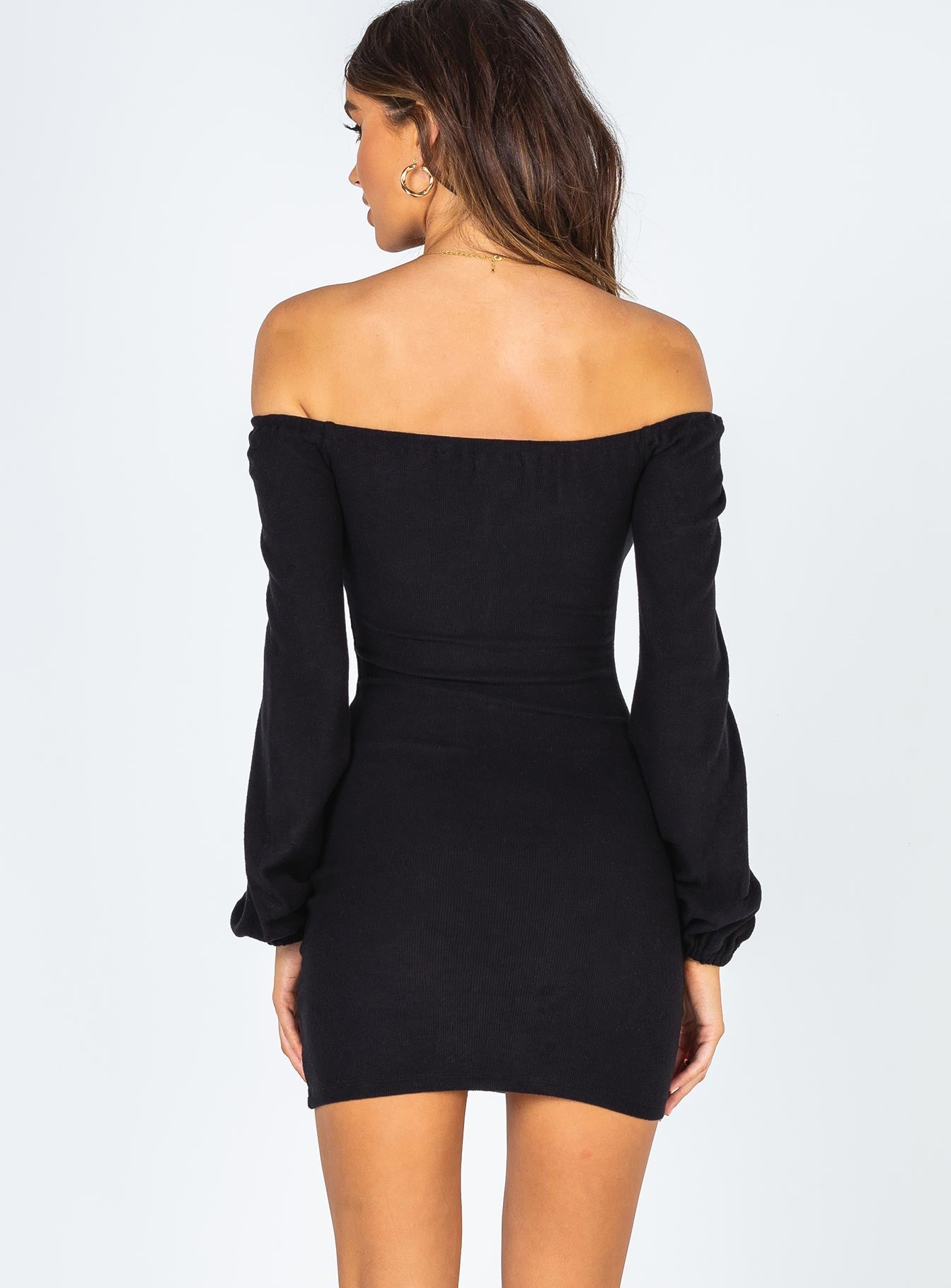 Simone Mini Dress Black