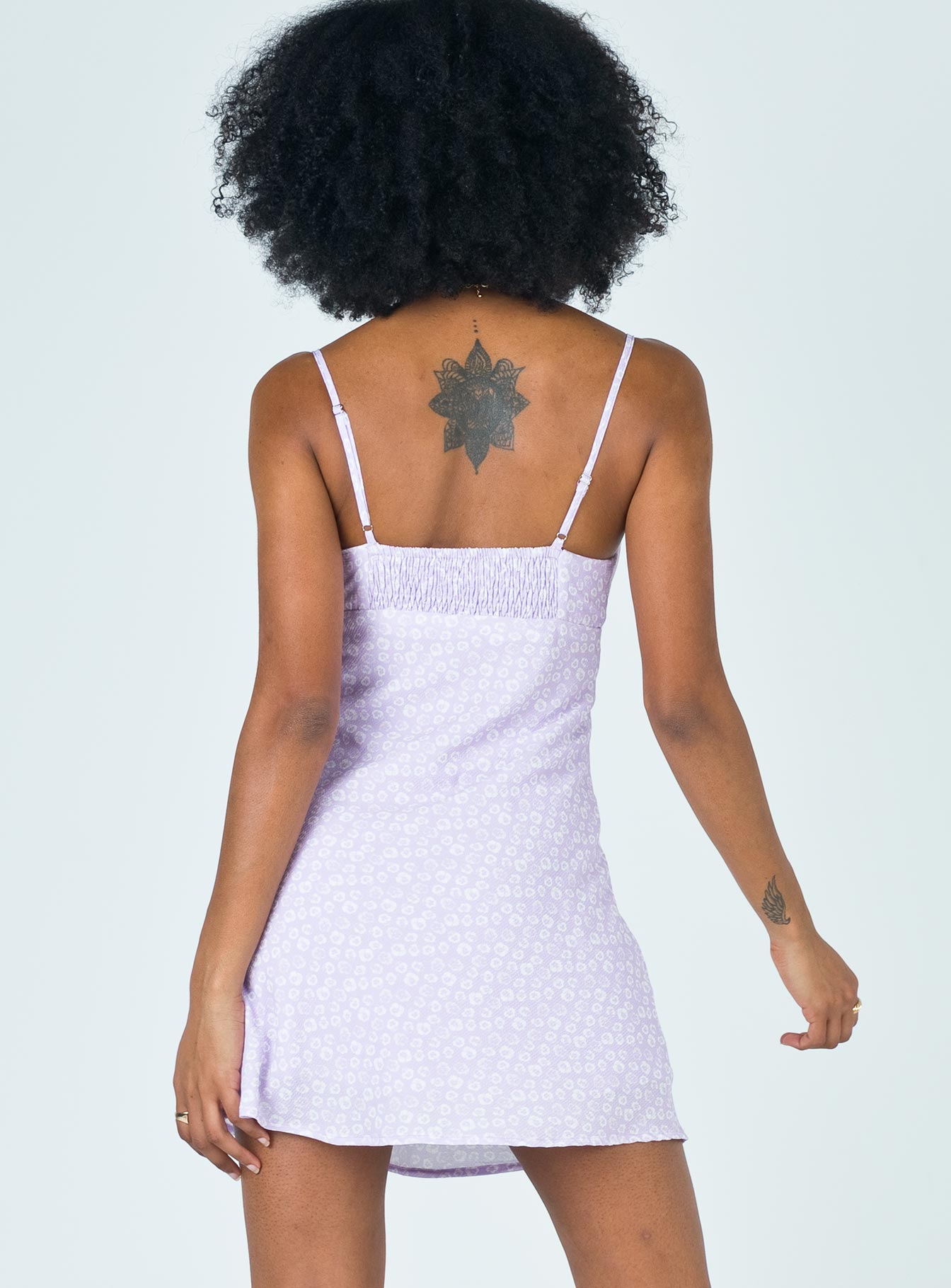 Willow Mini Dress Purple