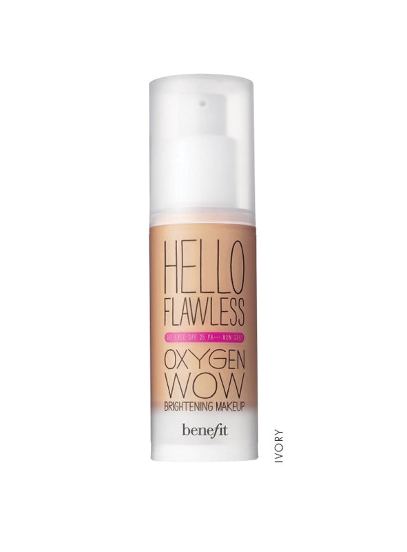 Benefit Hello Flawless Oxygen Wow! Liquid Foundation
