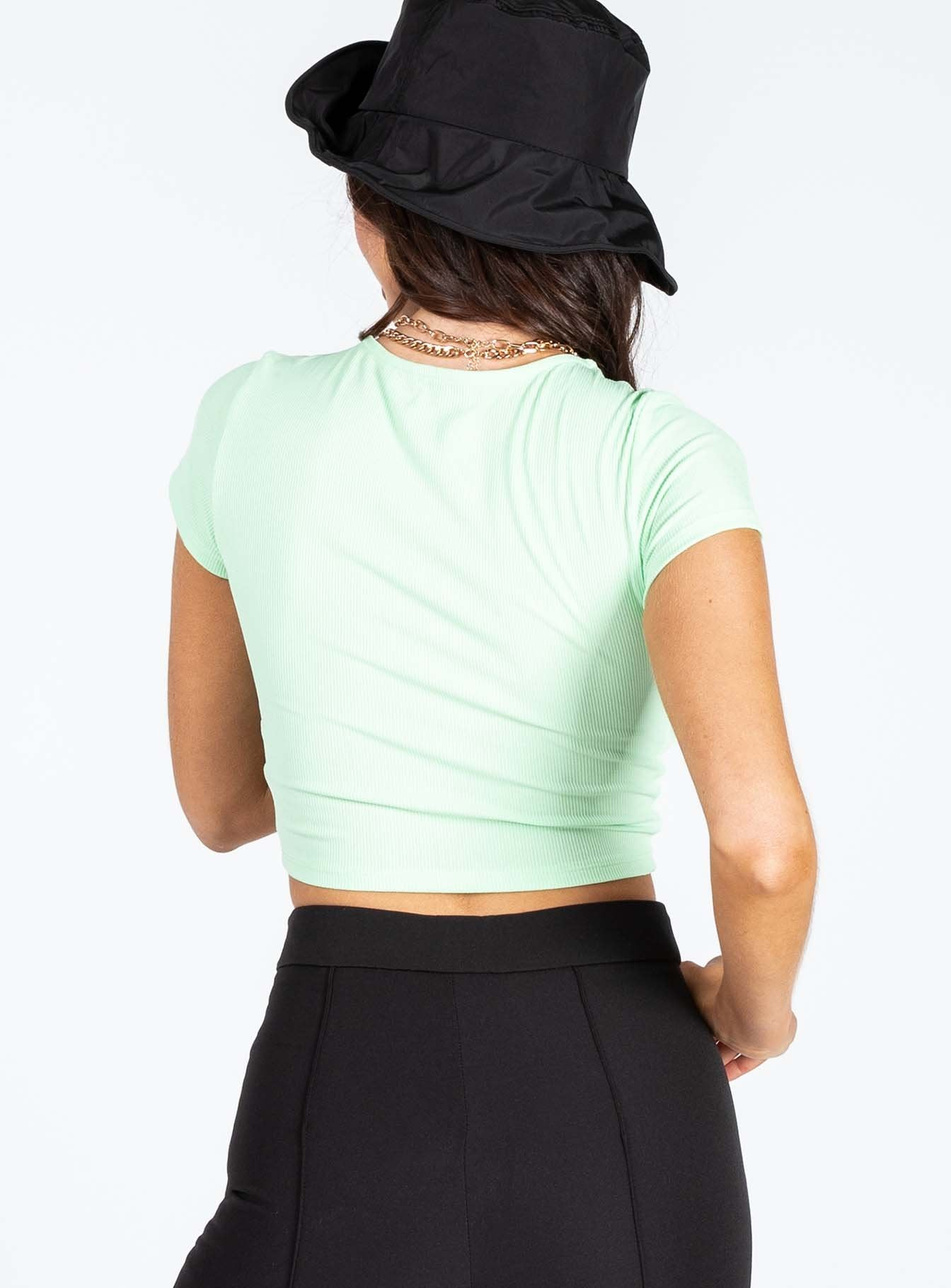 Dragon Crop Top Mint