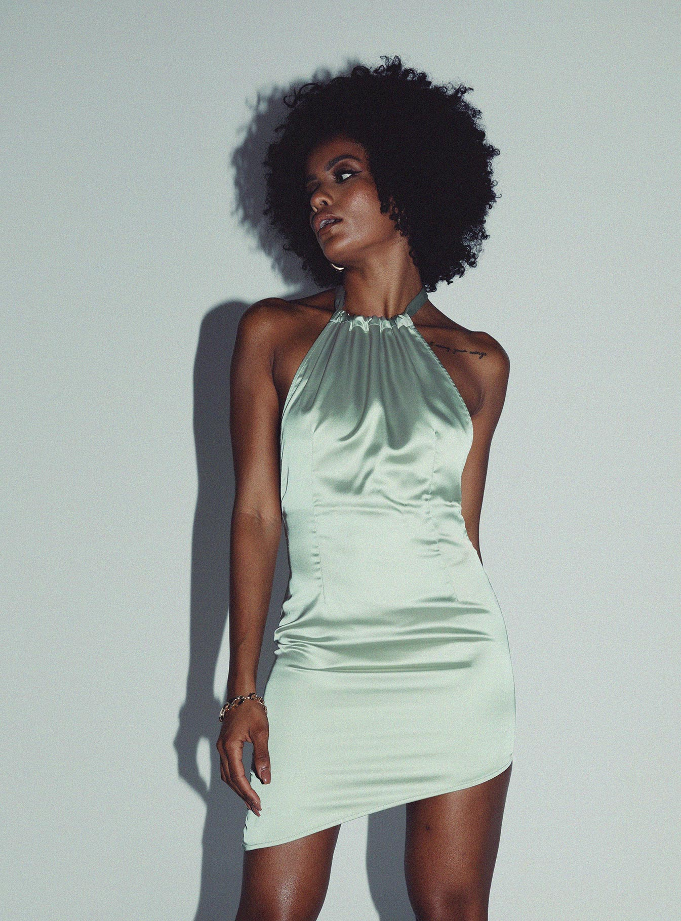 Nightlife Mini Dress Green