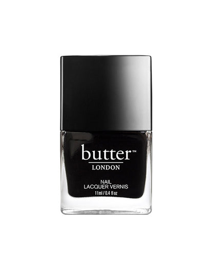 Butter London Union Jack Black Lacquer
