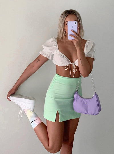 Alabama Mini Skirt Green
