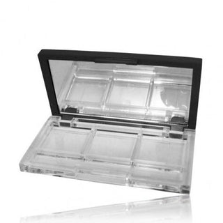 Boîtier plat maquillage rectangle