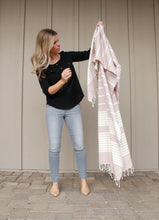 "Load image into Gallery viewer, Kate [80"" x 40"" Turkish towel]"