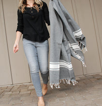 "Load image into Gallery viewer, Hilary [80"" x 40"" Turkish towel]"