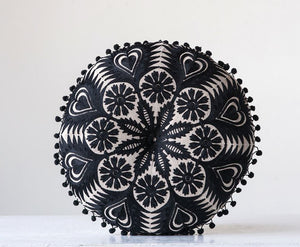 "Brielle [15"" round pillow]"