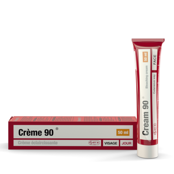 HT26 - Gamme 90 Acne solutions - Face cream 50ml - HT26.CA : Scientists Devoted to Black Beauty
