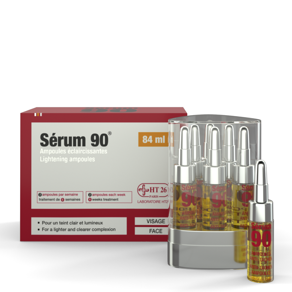 HT26 - Gamme 90 Acne solutions - Serum 6 Ampoule - HT26.CA : Scientists Devoted to Black Beauty