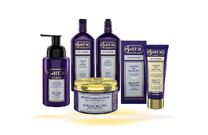 Optimism Aromatherapy Bath & Shower Gift Kit / Purple Violet Scent - HT26.CA : Scientists Devoted to Black Beauty