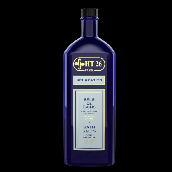 Bath salt/ Deluxe Relaxing Aromatherapy / Marine Scent – 13.40 oz - HT26.CA : Scientists Devoted to Black Beauty