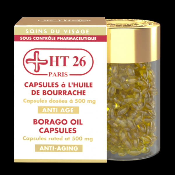 HT26 PARIS - Borago oil capsules - HT26.CA : Scientists Devoted to Black Beauty