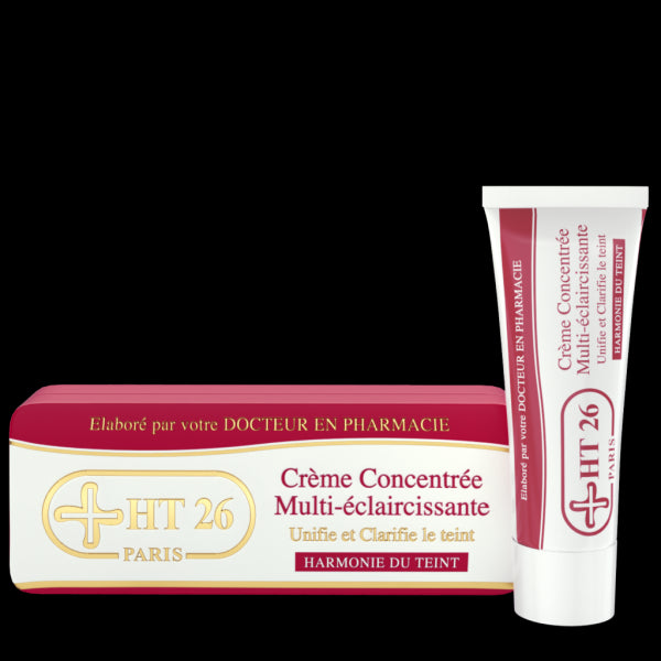 HT26 PARIS - Multi-lightening Concentrated Cream - HT26.CA : Scientists Devoted to Black Beauty