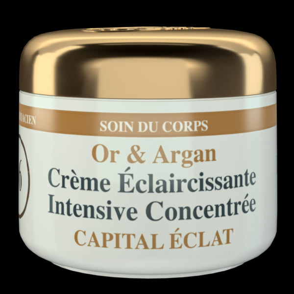 HT26 PARIS - Intensive body whitening Cream Gold & Argan - HT26.CA : Scientists Devoted to Black Beauty