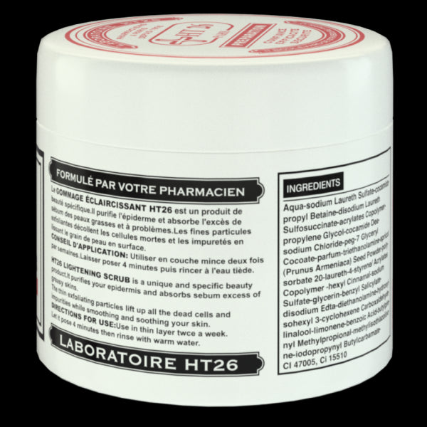 HT26 Preparation - Lightening Face scrub 220mL – HT26.CA : Scientists  Devoted to Natural Beauty
