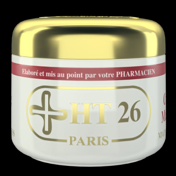 HT26 PARIS - Whitening Hand Cream for severe dark knuckles, dark spots , feet, elbows, and knees - HT26.CA : Scientists Devoted to Black Beauty