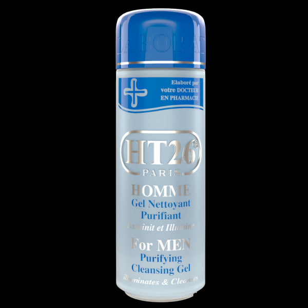 HT26 PARIS- Purifying cleansing gel for men - HT26.CA : Scientists Devoted to Black Beauty