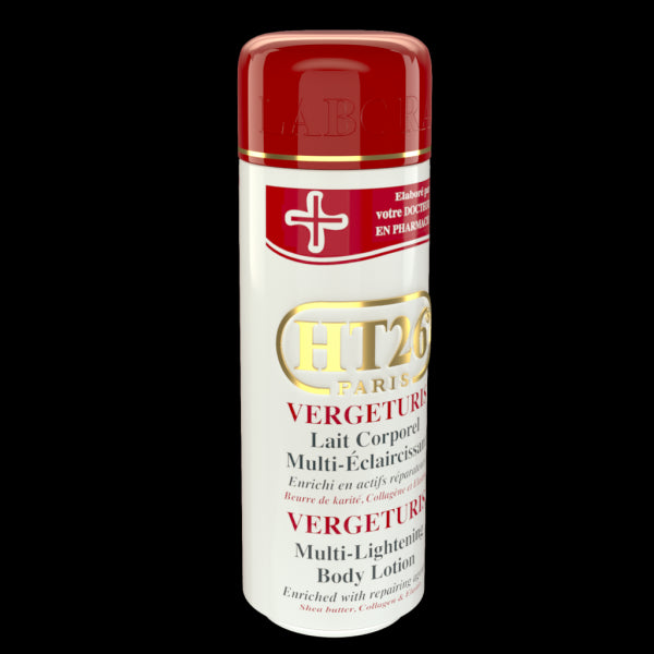HT26 PARIS - Vergeturis Stretch Marks Removal & Scar Whitening body lotion / Efface les vergetures et unifie. - HT26.CA : Scientists Devoted to Black Beauty