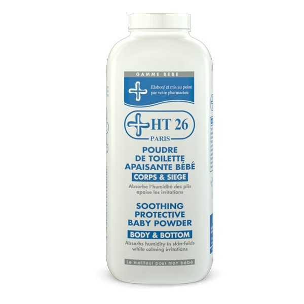 HT26 - Protective Baby Powder Capacity : 220 gr - HT26.CA : Scientists Devoted to Black Beauty