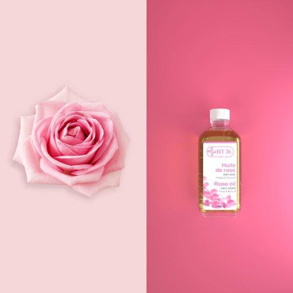 HT26 - Rose Pure Essential Oil 125 ml - HT26.CA : Scientists Devoted to Black Beauty