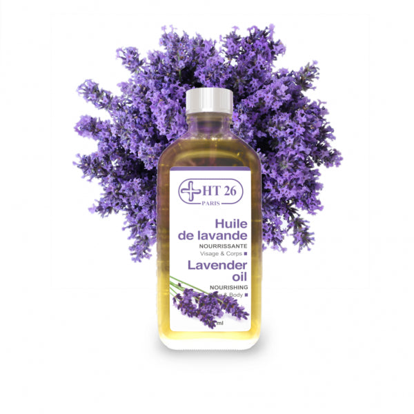 HT26 - Lavender Pure Essential Oil 125 ml - HT26.CA : Scientists Devoted to Black Beauty