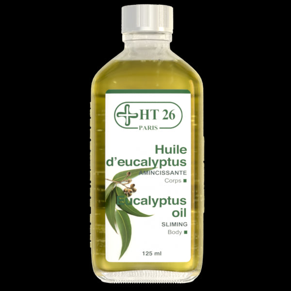 HT26 - Eucalyptus Pure Essential Oil 125 ml - HT26.CA : Scientists Devoted to Black Beauty