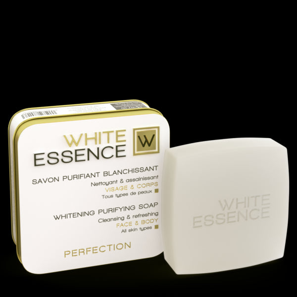 HT26 White Essence - Whitening Purifying Soap Perfection - HT26.CA : Scientists Devoted to Black Beauty