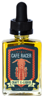 Lucky 13 - Cafe Racer E Liquid 30mil