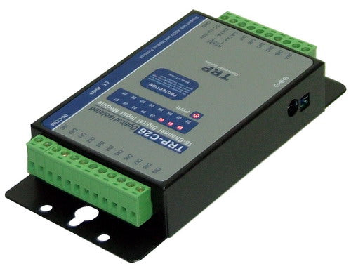 Trycom TRP-C26, TRP-C26. TRP-C26 provides 16 optical isolated digital input channels that allow you to input the logic signal from 0 to 30V DC. All channel features screw terminals for convenient connection of field signals as well as LED's to indicate channel status.
