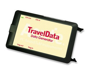 Acute TravelData Series, TD3008E. Pocket Data Generator powerful of generating several kinds of digital waveforms; it is a programmable data generator that runs in high speed, multi channels and functions.