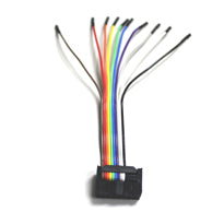 Dediprog 10-Pin ISP Split Cable (2.00mm), ISP-SP-CB2. The 10-Pin Split Cable has a 14-pin header(only 10 of them are used for the ISP Split Cable) which can be connected to the SF100 ISP header directly. Each individual split cable has a different color and is labeled with the pin name so that they are easy to identify.