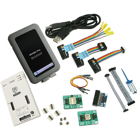 Dediprog SF600 Development Kit, SFDK02-G2. SPI Flash Development kit gives engineers the total solution while working on firmware development based on the SPI flash memories.