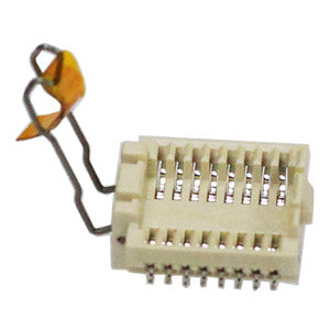 Dediprog SPI Flash Socket 16-Pin, SOK-SPI-16W. The socket is designed for chips with SO16W 300 mil package. The socket can be soldered directly on the SO16W 300 mil PCB foot print. Comes in a bundle of 15 pieces.