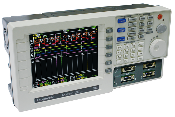 Leaptronix LA-2050, LA-2050. This professional stand-alone Logic Analyzer and Data Logger provides the most reliable, accurate data capture and the most complete view of system behavior.