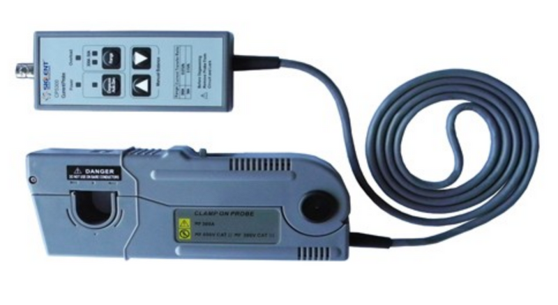 Siglent CP5030, CP5030. CP5030 is a probe capable of measuring high-frequency AC and DC currents.