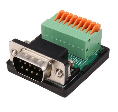 SystemBase CS-99 Male DB9 to Screwless Terminal, CS-99/M
