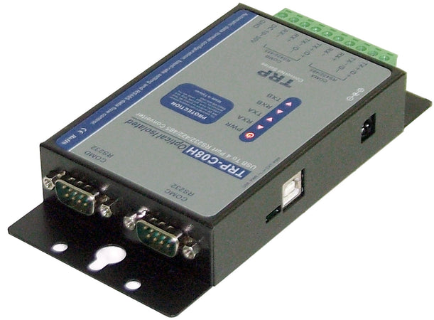 Trycom TRP-C08H, TRP-C08H. The TRP-C08H allows you to simultaneously connect 2 RS-232 and 2 RS-422/485 serial devices to system by using a USB interface.