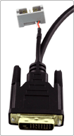 Total Phase DVI DDC Breakout Cable