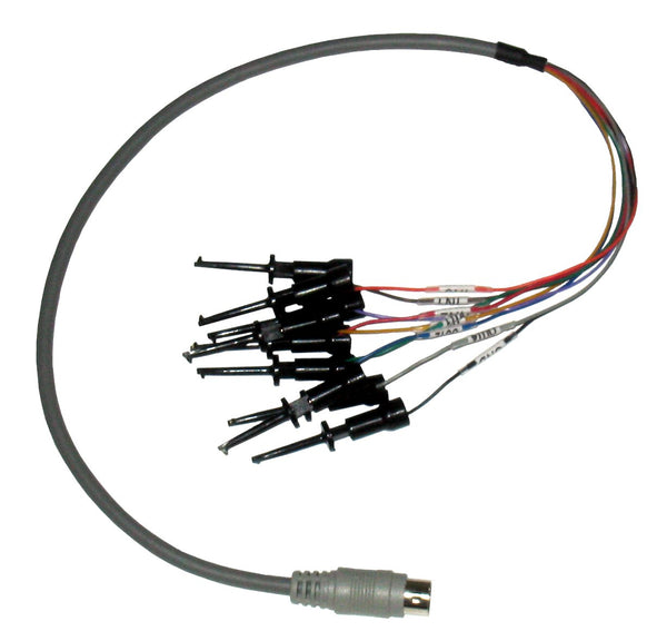 Total Phase Digital IO Cable with Grabber Clips