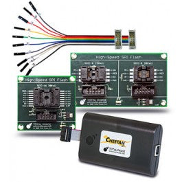 Total Phase Flash Programming Kit, TP120410. Streamline your design and development. See how easily you can erase, program, and verify SPI Serial Flash memory chips or gang-program multiple devices in parallel.