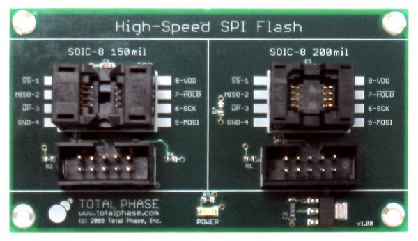 Total Phase Flash SOIC-8 Socket Board