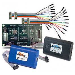 Total Phase I2C Development Kit, TP120112. This comprehensive and cost-effective kit bundles together a complete set of Total Phase's industry-leading I2C/SPI development tools and popular accessories. Experience how easy it can be to exercise target devices, simulate an I2C/SPI master or slave device, program and verify I2C/SPI-based memory devices, or monitor an I2C/SPI bus in true real-time.