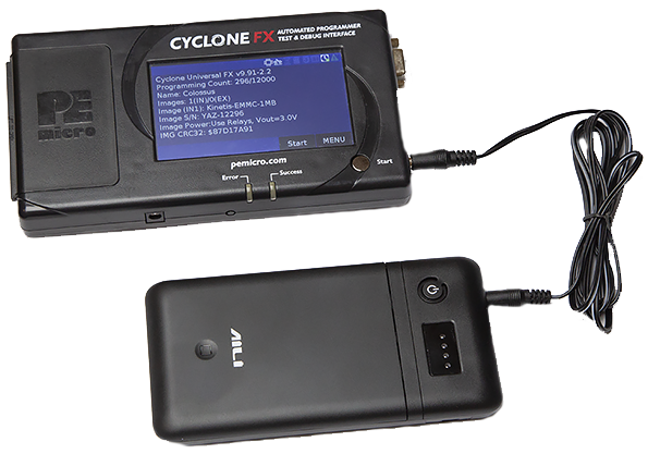 PEmicro Cyclone Power Pack