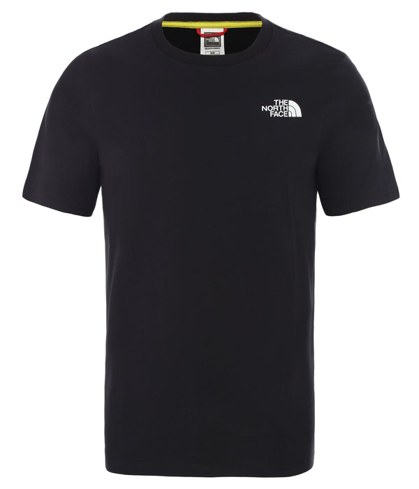 THE NORTH FACE T-SHIRT RAINBOW