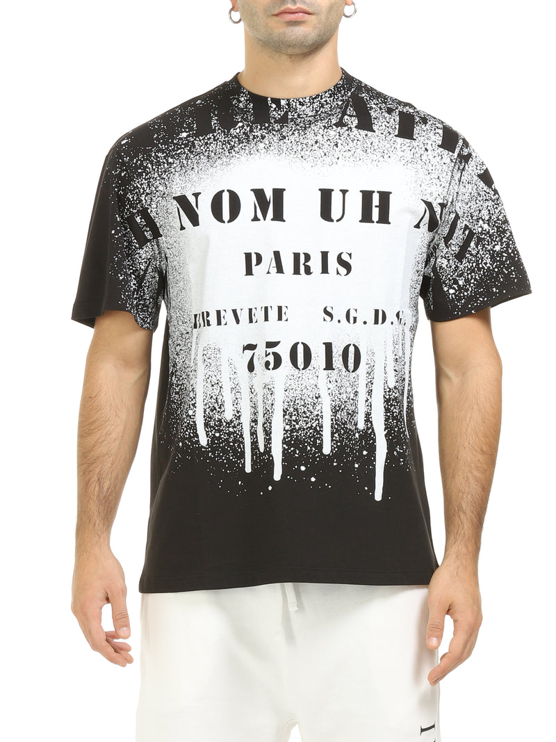 IH NOM UH NIT T-SHIRT ATELIER SPRAY